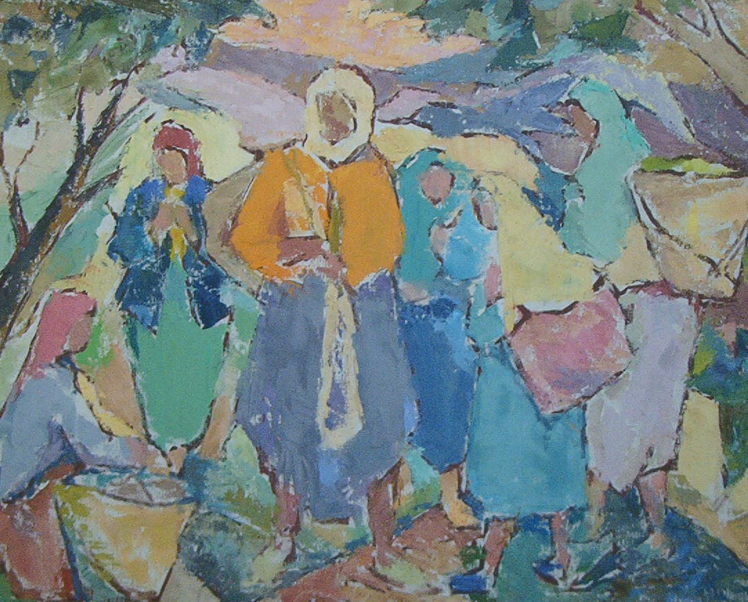 Peintures alg riennes 6 bachir yell s for Peinture satinee algerie prix