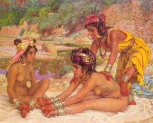 A07.baigneuses-dans-l-oued-le-massage