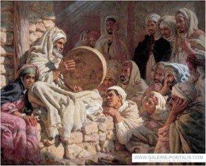 J02.Meddah-aveugle-chantant_epopee_prophete