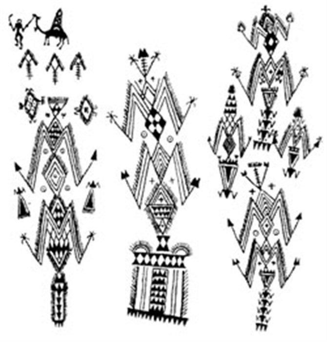 artisanat berb re signes et symboles part 2 murs tapis tatouages bijoux. Black Bedroom Furniture Sets. Home Design Ideas