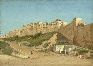 36.Asselberg_Alphonse_1839-1916_belge_Casbah_Alger_Orsay