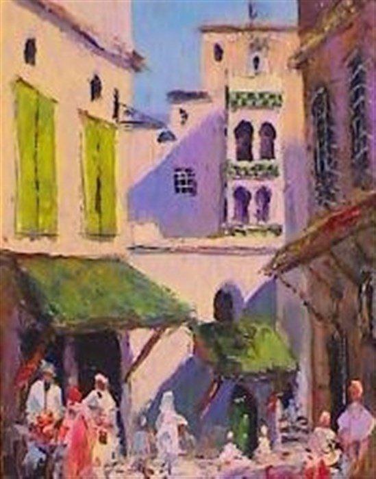 Images De La Casbah D Alger 2 Peintres Algeriens Chroniquesalgeriennes